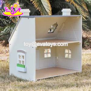 New Design Children Solid Wood Victorian Dolls House W06A236 pictures & photos