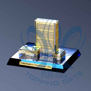 UN Headquarters (Crystal and Gold Model)small