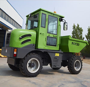 2.0ton Dumper Articulated Hydraulic Crawler Mini Tipper Truck pictures & photos