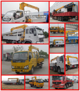 Mini Truck with Crane 6 Wheels Truck Mounted Crane Boom Crane Truck for Sale pictures & photos