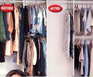 Hanger Vacuum Storage Bag, Wardrobe Organizer pictures & photos