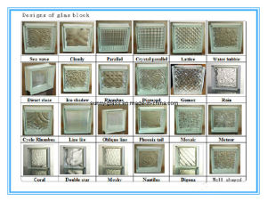 China Clear Or Colored Glass Block Glass Brick For Wall