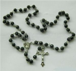 Religious Acrylic Glass Bead Necklace-Rosary (THR-AR009) pictures & photos