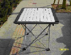 Alu. Slat Table