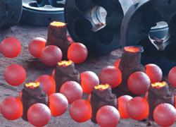 Grinding media balls, High Chromium Grinding Media Balls (10mm~130mm)