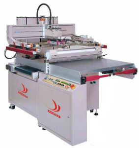 Seni-Automatic Screen Printing Machine With Movible Flat