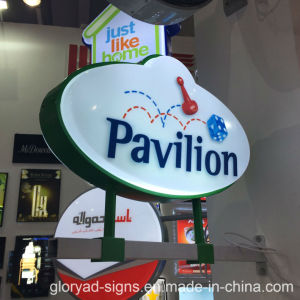 High Transparancy LED Lighting Round Light Box Sign pictures & photos