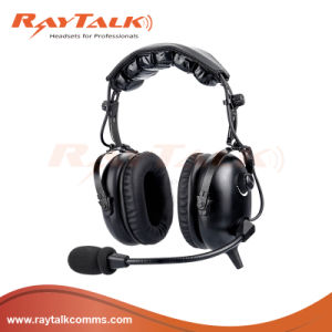 Aaviation Ground Support Headset with High Noise Reduction Ratings pictures & photos