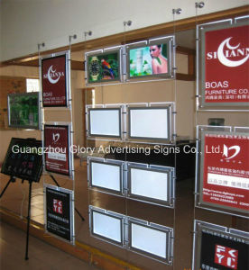 LED Photo Frame Crystal Light Box Advertising Light Box pictures & photos