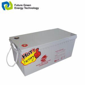 Solar Deep Cycle Lead Acid Battery AGM UPS Battery 12V150ah pictures & photos