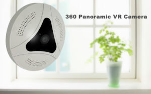 360 Viewing Angle Protation CCTV WiFi P2p Fisheye Panoramic IP Vr Camera pictures & photos