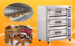 Luxurious Commercial 3 Deck Gas Oven with Factory Price pictures & photos