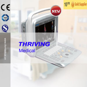 Thr-CD003V 4D Portable Color Doppler Ultrasound Machine Price pictures & photos