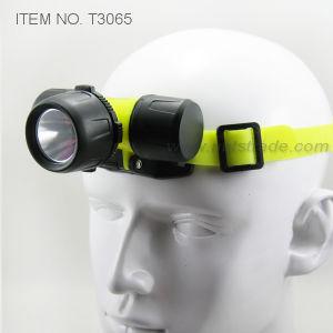 3 AAA Diving 3 Watt Power LED Headlamp (T3065) pictures & photos