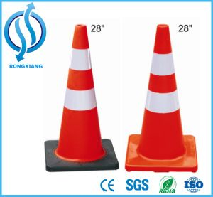 Green Color PVC Traffic Road Safety Cone pictures & photos