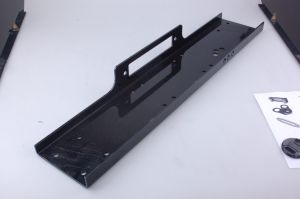 Universal Recovery Winch Mounting Plate 13000lb, Mounting Bracket, Black pictures & photos