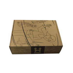 Colorful Printing Wholesale Natural Brown Kraft Packaging Paper Box pictures & photos