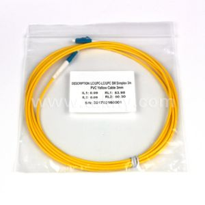 3.0 LC/Upc-LC/Upc Sm Duplex Fiber Optic Patch Cord pictures & photos