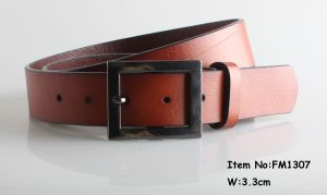 2018 Fashion Genuine Leather Ladies Belts (FM1307) pictures & photos