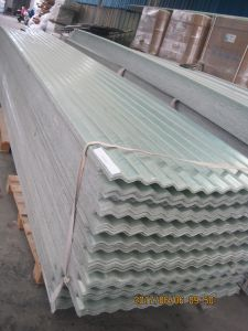 FRP Corrugated Sunlight Board, Fiberglass Sheet, GRP Roofing Board pictures & photos