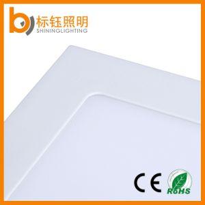 Factory 12W AC85-265 50-60Hz Square Slim LED Panel Ceiling Home Interior Light pictures & photos