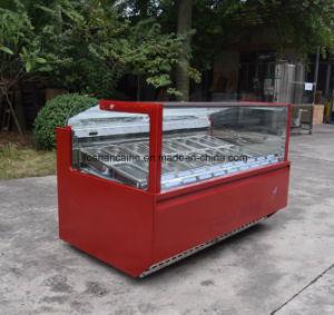 Italian New Ice Cream Showcase Hofex Hongkong pictures & photos