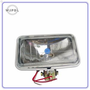 4 Inch Auto / Truck Headlight Front Lamp Square Halogen Sealed Beam Light pictures & photos
