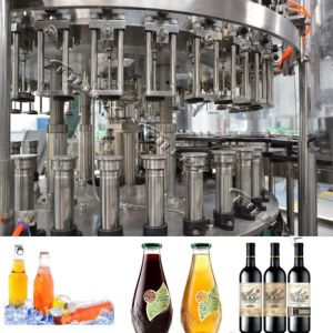 Glass Bottle Beer Filling Machine CE/ISO/SGS pictures & photos