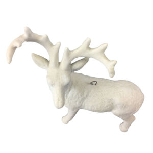 White Ceramic Goat Staues for Home Decoration pictures & photos