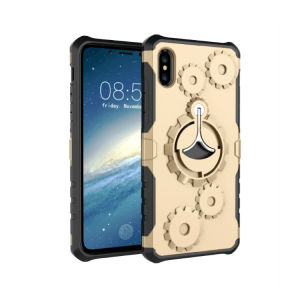 2017 Gear Shockproof Phone Cases with Steel Stand for iPhone 8 pictures & photos