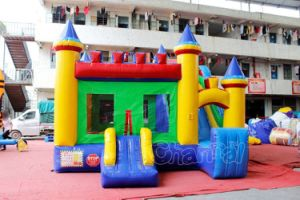 Children Jumping Bed Inflatable Bouncy Castle Chb202 pictures & photos
