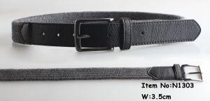 2018 Fashion Men Cotton Woven Belts (N1303) pictures & photos