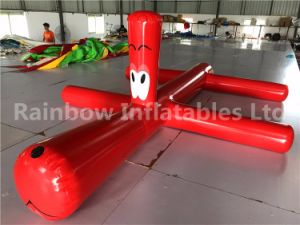 Rainbow Summer Inflatable Floating Water Gog /Inflatable Water Tube for Pool pictures & photos