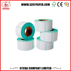 Thermal Adhesive Label Thermal Paper Sticker pictures & photos