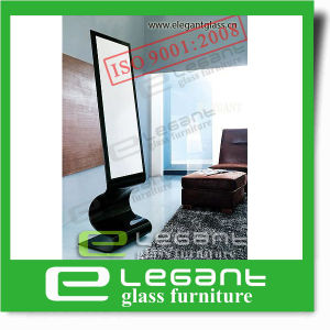 Glass Cheval Mirror in Black Color Painting pictures & photos