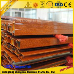 Aluminium Extrusion Wood Profiles for Doors and Windows pictures & photos