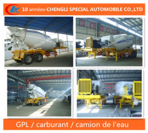 12cbm Betonniere Semi-Remorque 2essieux Concrete Mixer pictures & photos
