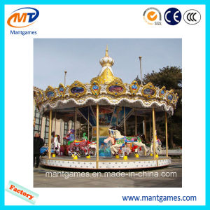 Fairground Games Cheap Amusement Ride Equipment 16 Seats Small Carousel pictures & photos