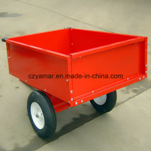 600lbs. 10cu. FT. Steel Dump Cart pictures & photos