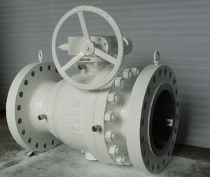 Worm Gear Fully Welded Ball Valve pictures & photos