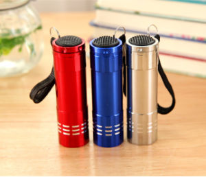 Battery Hand Mini LED Flashlight pictures & photos