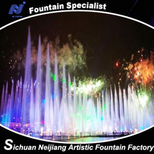 Music Water Fountain with Pretty Laser Performance Dance Fountain pictures & photos