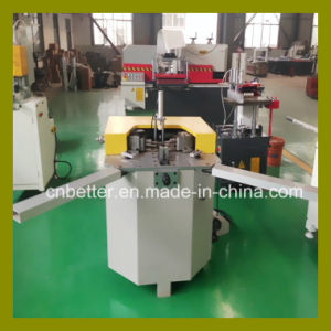 Single Head Aluminum Window Door Corner Combining Machine for Aluminum Window Machines
