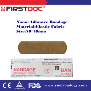 Adhesive Bandage, 70*18mm, Elastic Fabric pictures & photos
