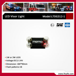 LED Warning Visor Light (LTDG312-1) pictures & photos