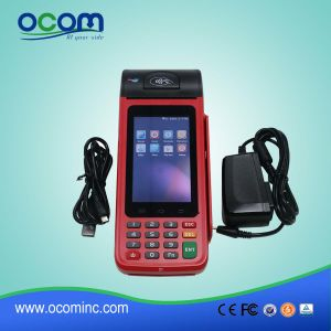 Ocom 2016 New Design Handheld Android POS Terminal with Printer pictures & photos