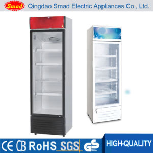 Free Standing Single Door Botttle Beer Glass Door Refrigerator Display pictures & photos