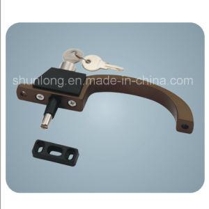 Aluminium Door/Window Handle/Lock with Keys Hardware Accessories (SD-017)