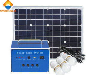 30W off Grid System Solar System for House Using pictures & photos