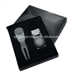 High Quality Golf Fork Ball and Keychain Gift Set pictures & photos